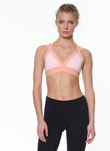 Nike Bra-Sporcu Sütyeni Pembe